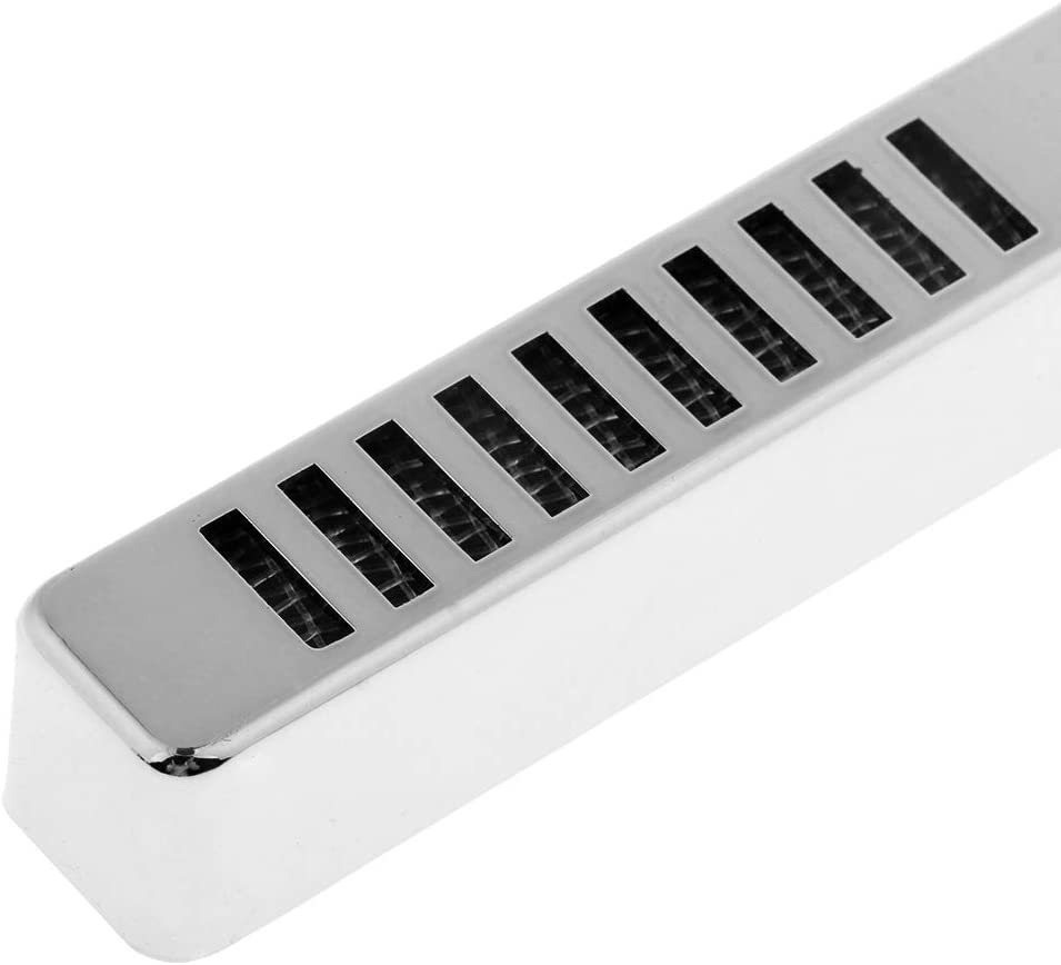Argent FLAMEER 3 pcs Humidor Humidificateur pour Cigares Rectangulaire 16 x 1.7 x 1.7 cm