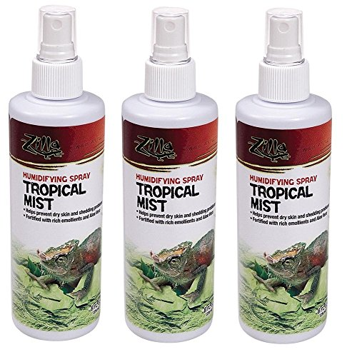 Zilla Tropical Mist Humidifying Spray 8oz (3 Pack)
