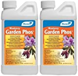 (2 Pack) Monterey Garden Phos Fungicide, 1 Pint Per Bottle