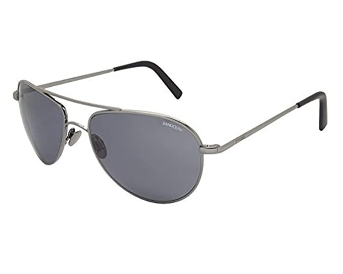Randolph - Gafas de sol - para hombre gris gris: Amazon.es ...