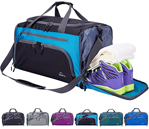 Venture Pal Packable Sports Gym Bag with Wet Pocket & Shoes Compartment Travel Duffel Bag for men and Women-Green by Venture Pal