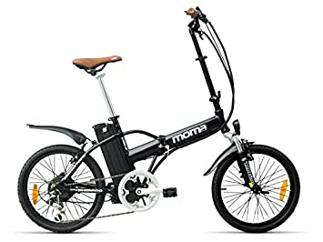 Bicicleta elctrica plegable moma e bike 20