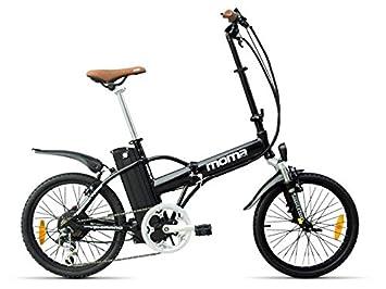 Moma Bikes Ebike 20 Alu 6V 36V250W Lithium Ebike 20 Alu 6V 36V250W Lithium NEGRO