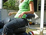 """Universal Motorcycle Armrest - 17"""" Wide"""