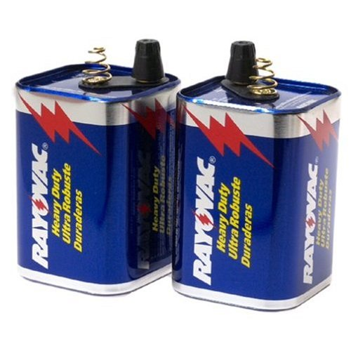 6v Heavy Duty Lantern Battery - 8