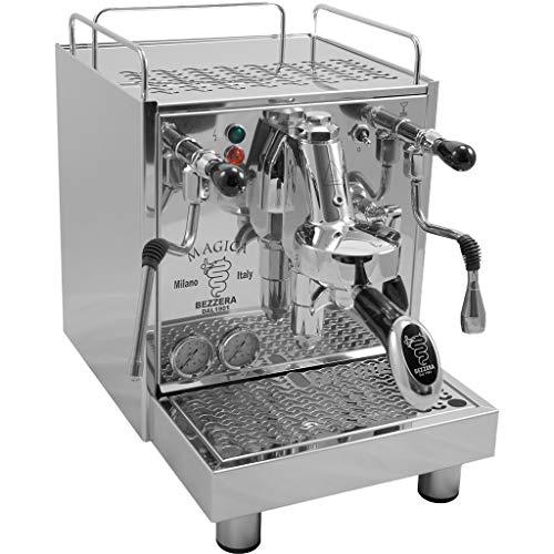 Bezzera Magica Commercial Espresso Machine E61 Brewing Group (Best Hx E61 Espresso Machine)