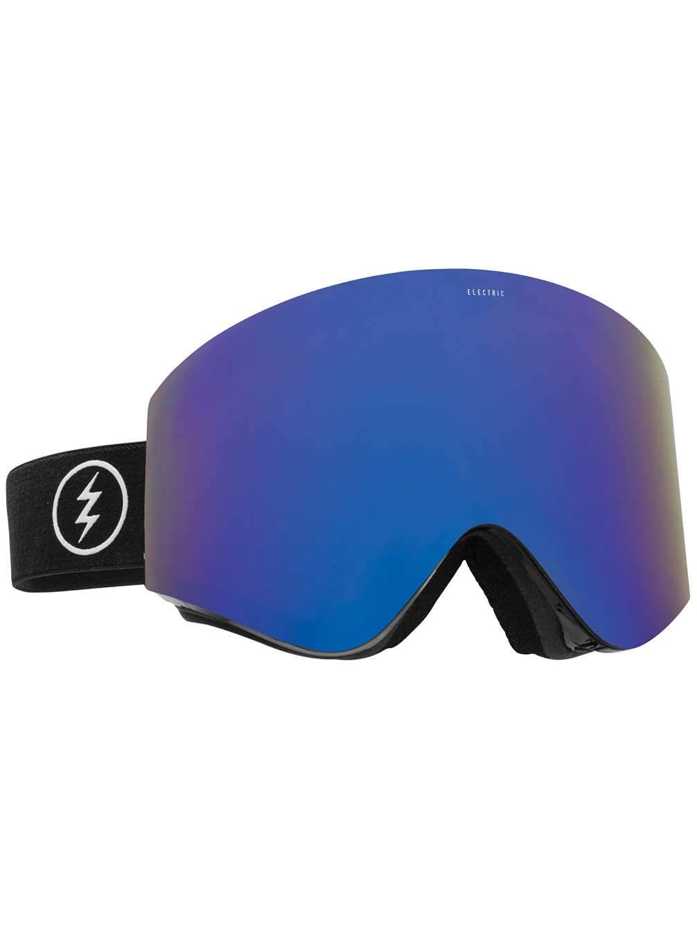 a84033241706 Electric EGX Snow Goggles - Gloss Black Frame w  Brose Blue Chrome Lens