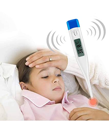 1 pcs digital oral thermometer baby adult kids body safe ear temperature FY-FY