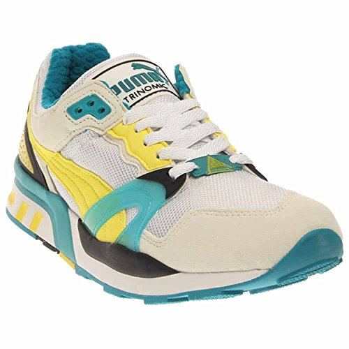 Puma Mens Trinomic XT 2 Plus Classic Sneaker, Blanco/cerceta/negro/amarillo (White/Teal/Black/Yellow), 43 B(M) EU/9 B(M) UK
