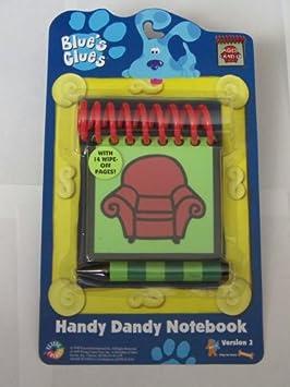 amazon com blue s clues handy dandy notebook assortment joe bedtime