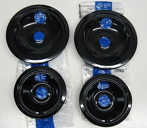 ge 4 pack drip bowl set - 7