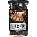 Sanders Milk Chocolate Sea Salt Caramels, 36 Oz