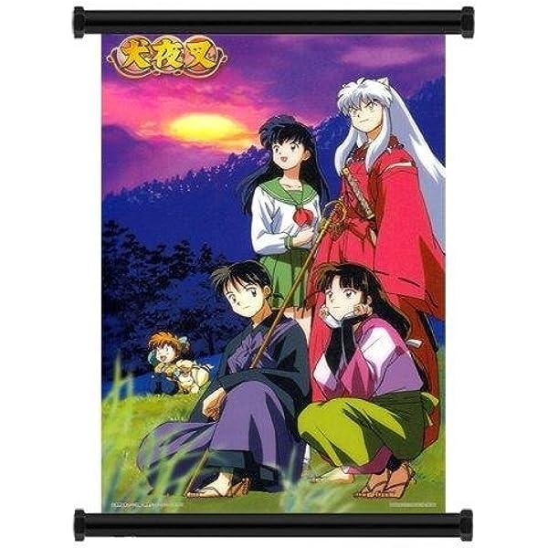 Inu Yasha inuyasha HD Print Anime Wall Poster Scroll Room Decor