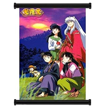 Inuyasha Anime Fabric Wall Scroll Poster 16quot X 23quot Inches