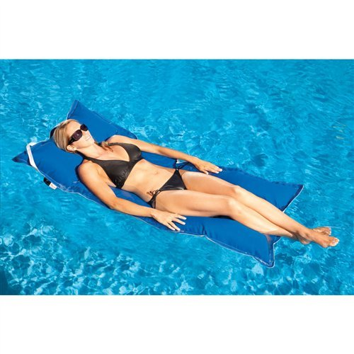 Floating Luxuries FL32501 Kai Infinity Pool Float, 28 by 70-Inch, Pacific Blue
