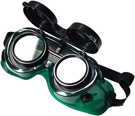 New Solder Welded Glasses Mask Safety Anti-glare Splash Eyes Protection Goggles