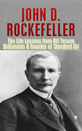What is title of a book written by a wealthy american around the time of rockefeller?