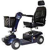 Shoprider - Sunrunner 4 - Mid-Size Scooter - 4-Wheel - Blue