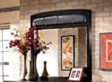 Signature Design Harmony Dark Brown Frame Dresser Mirror by Ashley