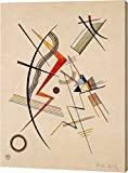 """This 11""""x14"""" premium giclee canvas art print of Untitled by Wassily Kandinsky is created on the finest quality artist-grade canvas, utilizing premier fade-resistant archival inks that ensure vibrant lasting colors for years to come. Every detail of t..."""