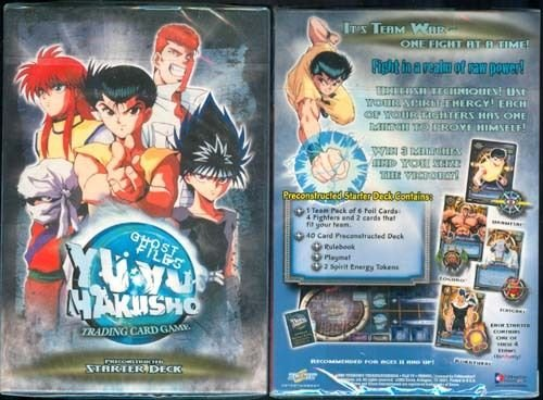 Sealed Starter Deck - (Ship from USA) Yu-Yu HAKUSHO GHOST FILES - 1ST EDITION SEALED PRECONSTRUCTED STARTER DECK X1 /ITEM#H3NG UE-EW23D98898
