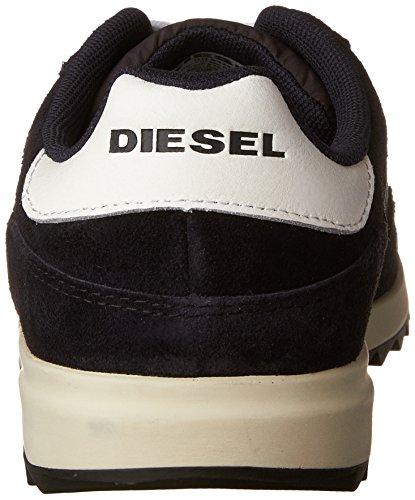 Diesel Mens V-staffetta S-snabbare Ii Mode Gymnastiksko Blå Grafit / Vit