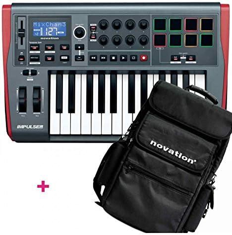 Pack Novation Impulse 25 + funda: Amazon.es: Instrumentos ...
