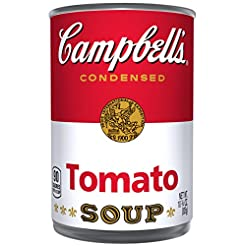 Campbell's Condensed Soup, Tomato, 10.75...