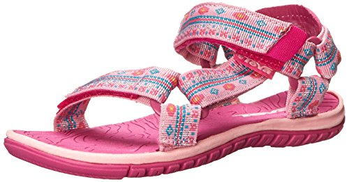 Teva Hurricane 3 Kids Sport Sandal (Toddler/Little Kid/Big Kid), Pink, 6 M US Big Kid