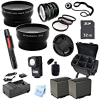 Advanced Professional Kit: for Canon XA10 Pro HD Camcorder