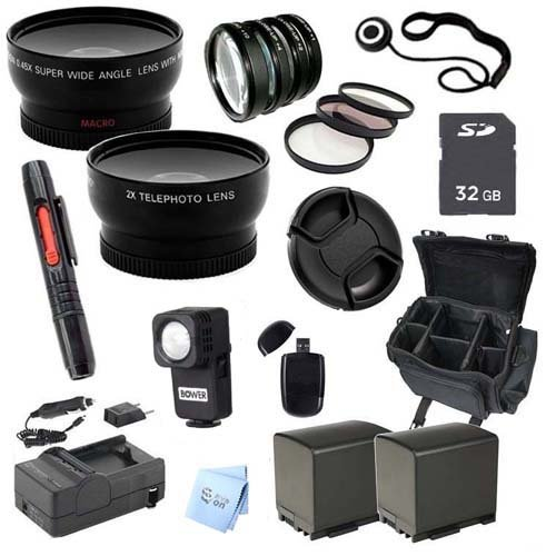 Advanced Professional Kit: for Canon 32GB VIXIA HF G20 Full HD Camcorder by Promax