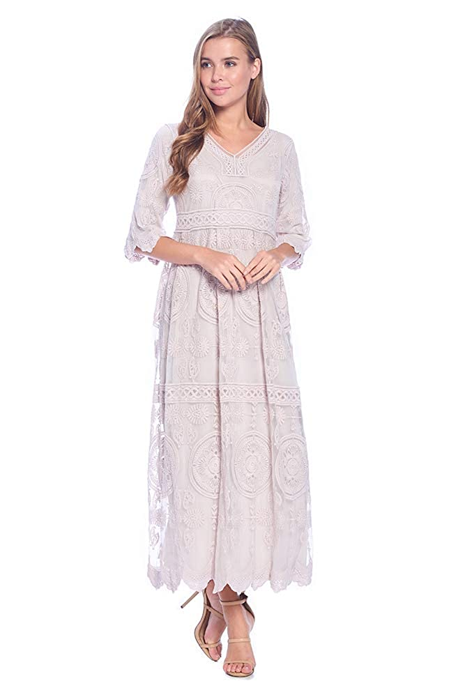 Cottagecore Dresses Aesthetic, Granny, Vintage The Primrose Modest Dress $79.00 AT vintagedancer.com