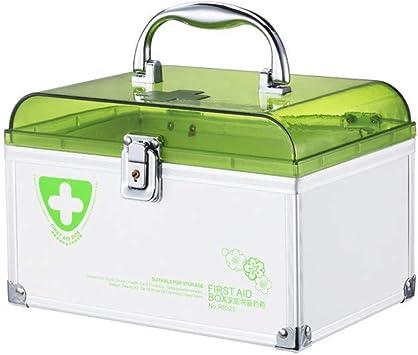 Caja medicina portátil familiar caja medicina portátil caja ...