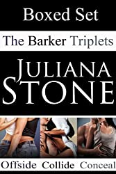 The Barker Triplets Boxed Set. (English Edition)