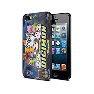 LJF phone case Case Cover Silicone iphone 4/4s Digimon Cartoon Dm8 Protection Design