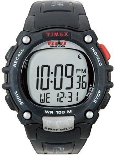 Timex Timex Sport T5J992 - Reloj digital de caballero con correa de goma negra: Amazon.es: Relojes