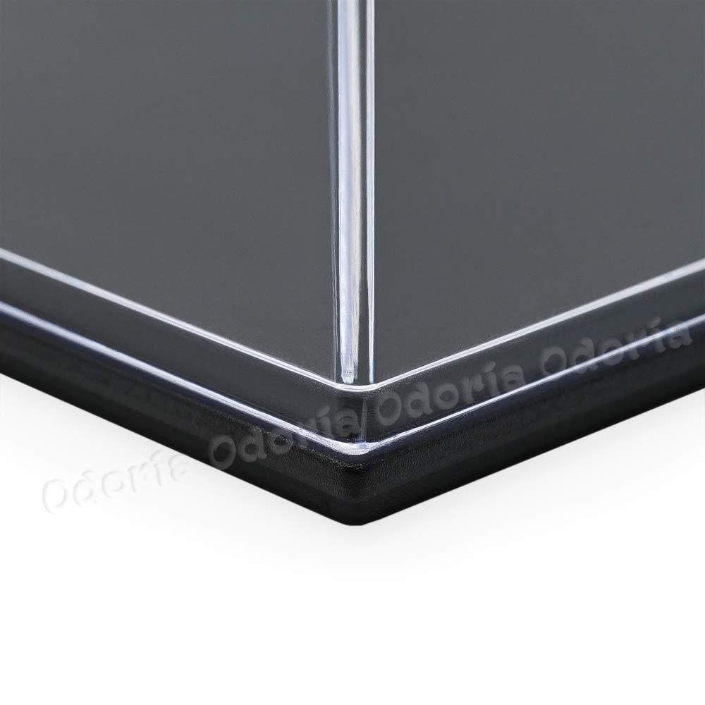 Amazon.com: Odoria UV transparente expositor de acrílico ...