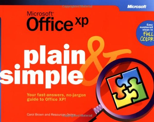 Download Microsoft® Office XP Plain & Simple (How to Do Everything) pdf epub