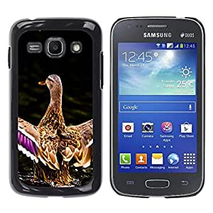 Stuss Case / Funda Carcasa protectora - Duck Pond Nature Spring Bird Water - Samsung Galaxy Ace 3 GT-S7270 GT-S7275 GT-S7272