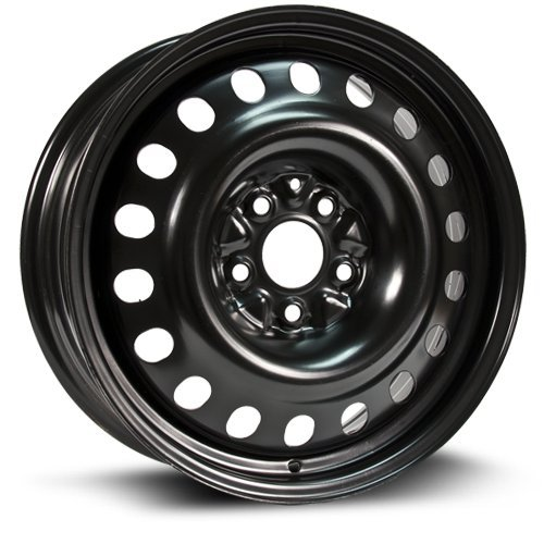 (RTX, Steel Rim, New Aftermarket Wheel, 17X7, 5X114.3, 64.1, 45, black finish X47564)