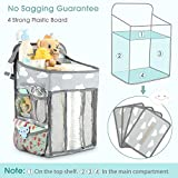 Hanging Diaper Caddy Organizer - Diaper Stacker for