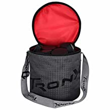 Tron-X Puck Transporter Bag and 50 Hockey-Pucks