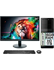 "Computador Completo Intel Core i7 16GB HD 1TB Monitor LED 24"" HDMI EasyPC Go"