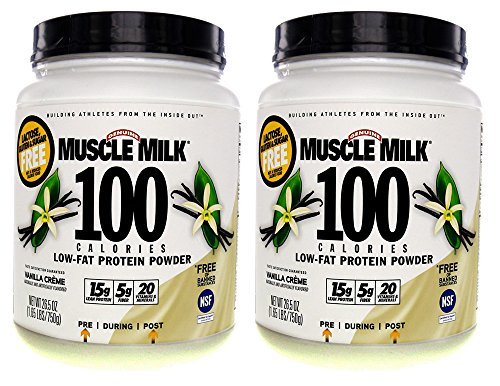 Cheap CytoSport Muscle Milk 100 Calories 2-pack Vanilla 1.65 lb (750g)