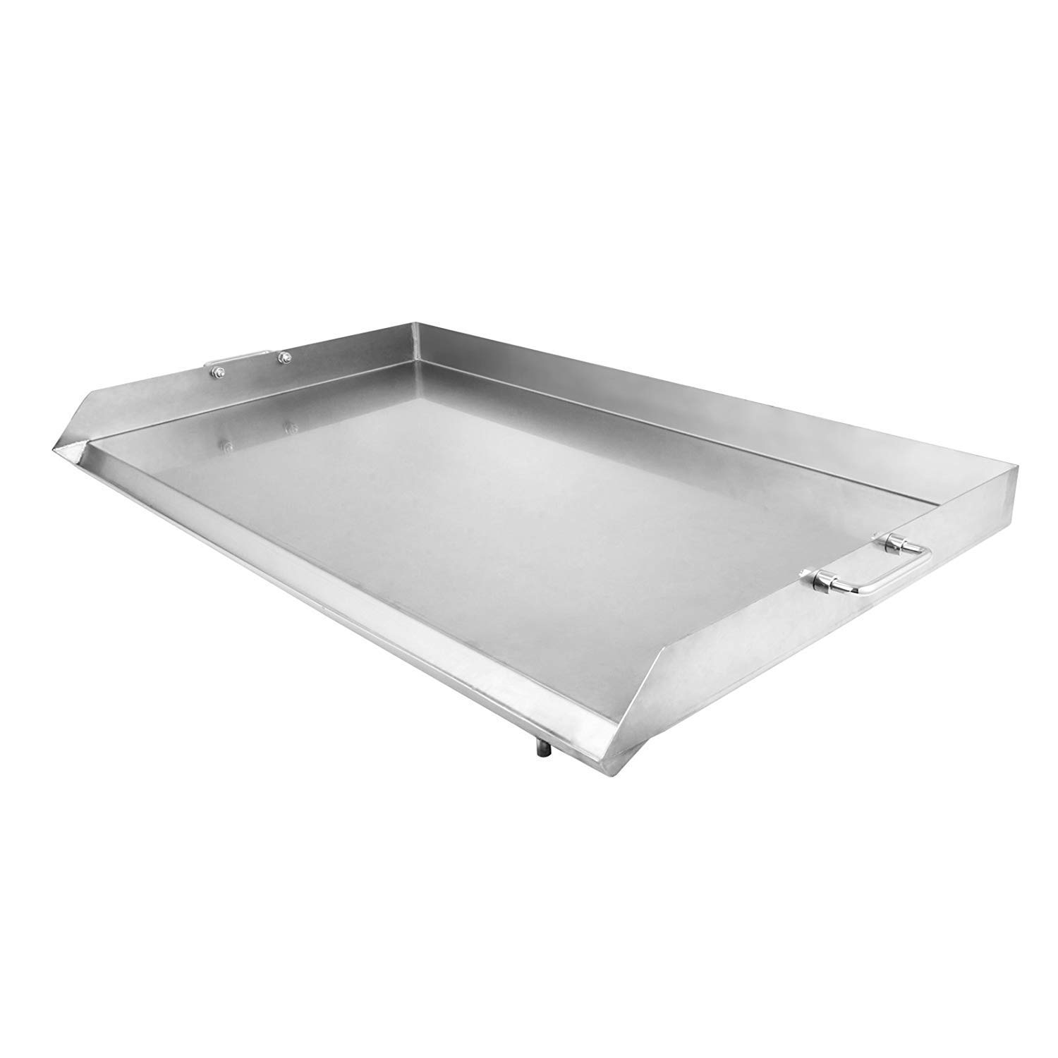 VEVOR Universal Flat Top 36'' x 22'' Griddle for BBQ Grills Stainless Steel Non-Stick Burner with Removable Handles