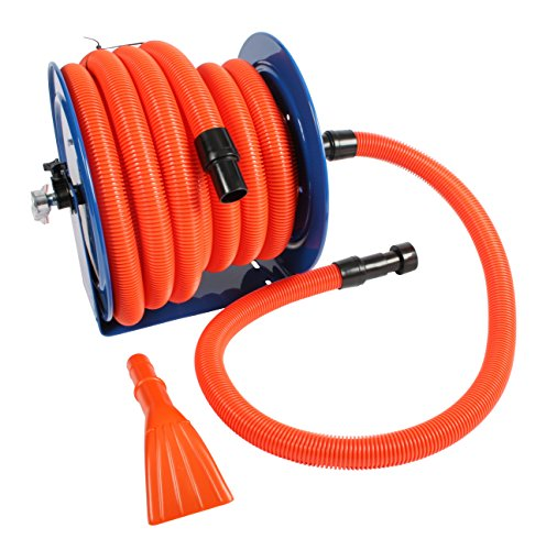 Cen-Tec Systems Industrial Hose Reel and 50 Ft. Hose for Shop ()