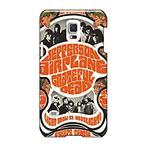 Samsung Galaxy S5 Mini ZVu1663XUdF Custom Trendy Grateful Dead Band Pattern Perfect Hard Phone Cover -icase88