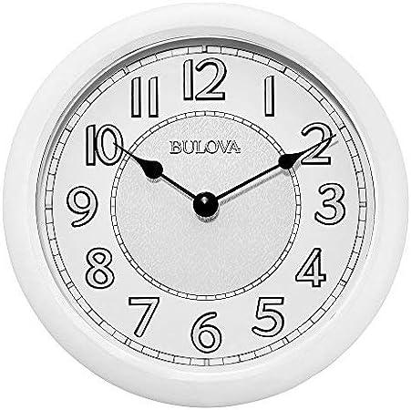 ساعة بولوفا C4842 متعددة الاستخدامات ستيريو بلوتوث لاسلكية داخل وخارج المنزل بمينا حائط - ابيض