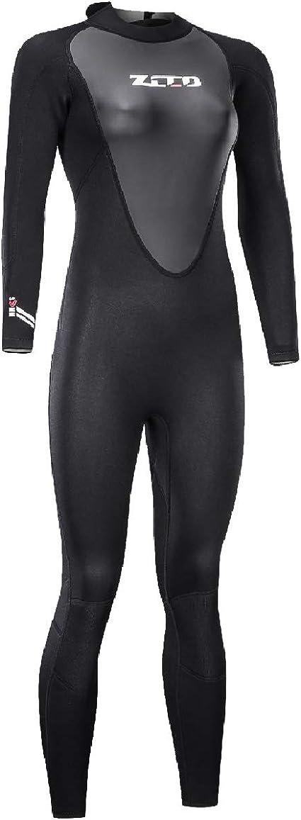 Scuba Diving Swimming yooxor Wetsuit Man Woman 3mm Neoprene Full Wetsuit with Sharkskin Mans Dive Sector Back Zip for Men-Snorkeling Surfing