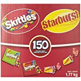 Skittles Multi-Coloured Fun Size Pack (1.77kg), 150-Count